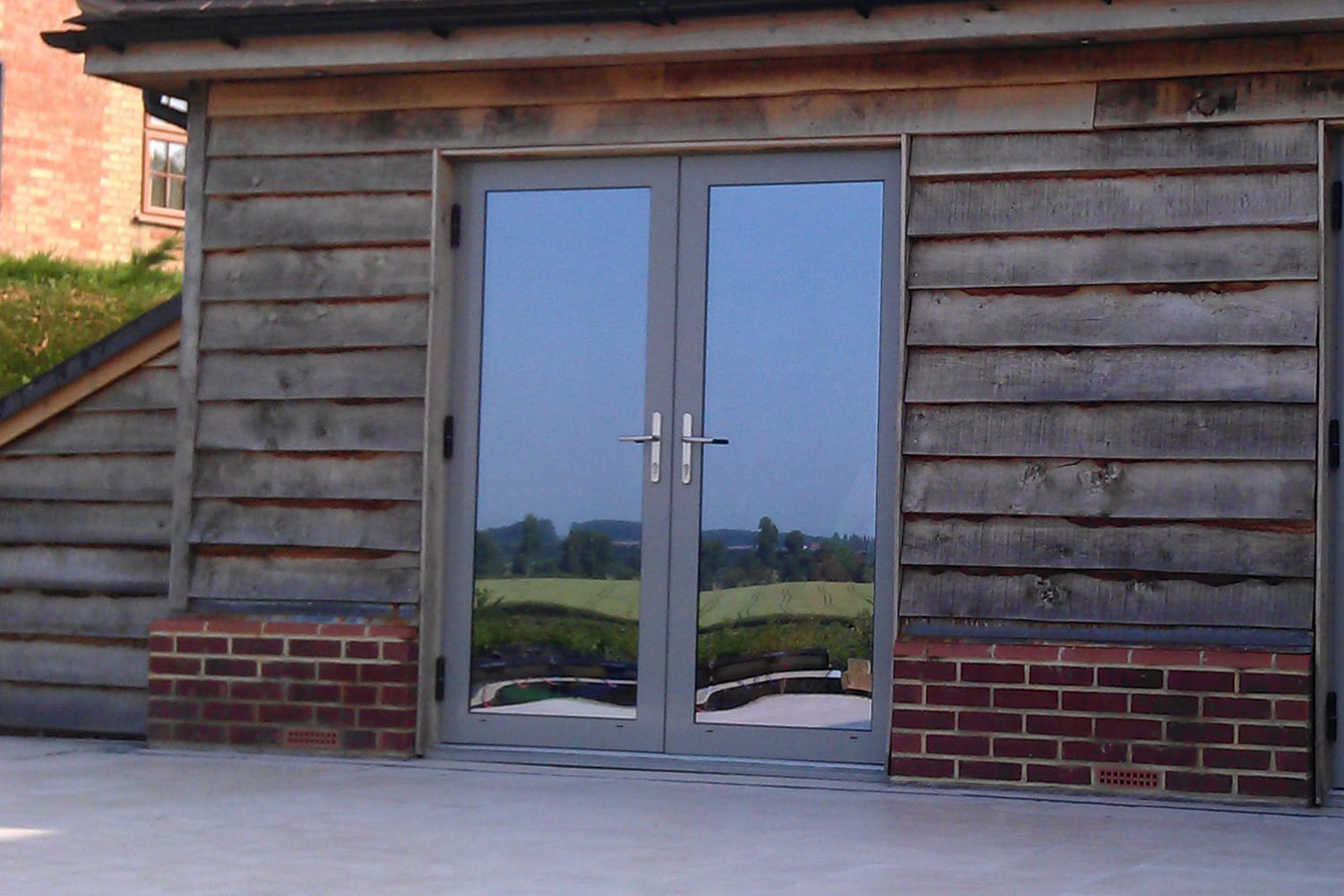 Upvc doors sandbanks double glazed door prices for Aluminum french doors