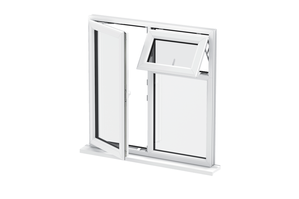 Casement Window CGI