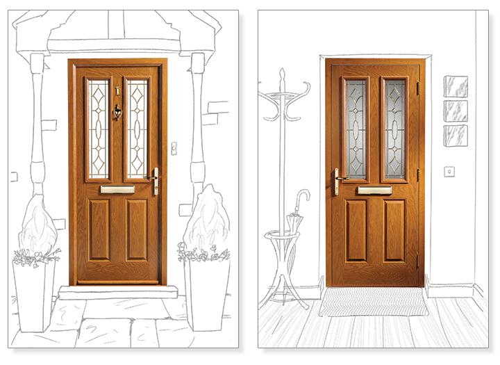 trade composite doors