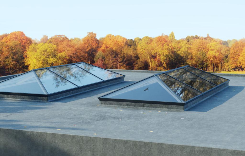 lantern roof costs aluminium